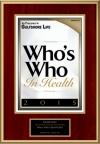 Who's Who In Health 2015