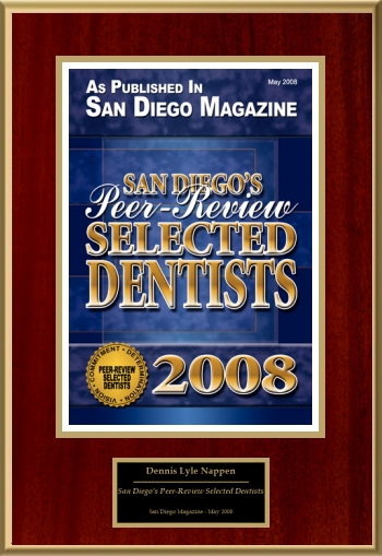 San Diego's Peer-Review Selected Dentists