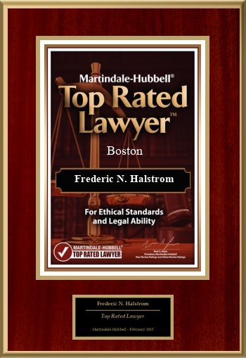 Martindale-Hubbell Boston Top Rated Lawyer