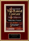 Martindale-Hubbell Medical Malpractice Top Rated Lawyer