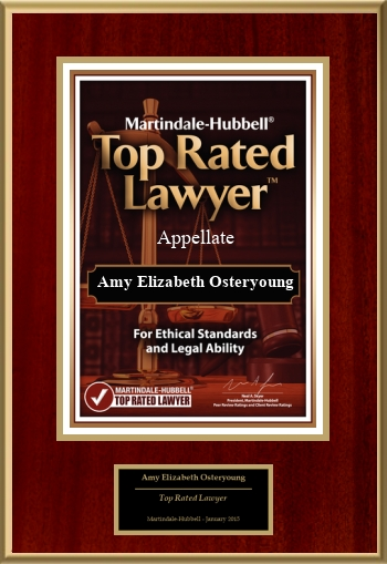 Martindale-Hubbell Top Rated Lawyers: Appellate