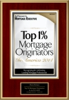 Top 1% Mortgage Originators In America 2014