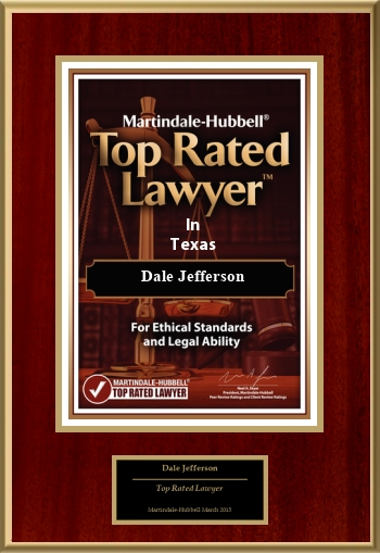 Martindale-Hubbell Texas Top Rated Lawyer