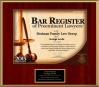 2015 Bar Register of Preeminent Attorneys - Listed Lawyer
