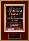 Martindale-Hubbell Labor and Employment Top Rated Lawyers
