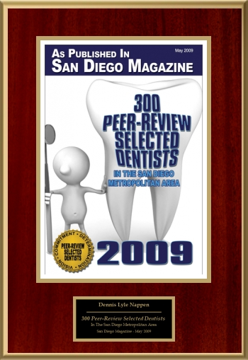 300 Peer-Review Selected Dentists