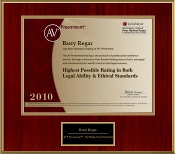 PRR AV Preeminent Attorneys 2010
