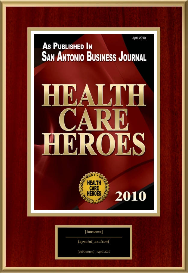 Health Care Heroes American Registry Recognition Plaques Award