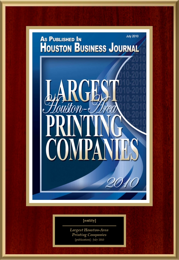 largest houston-area printing companies | american registry ...