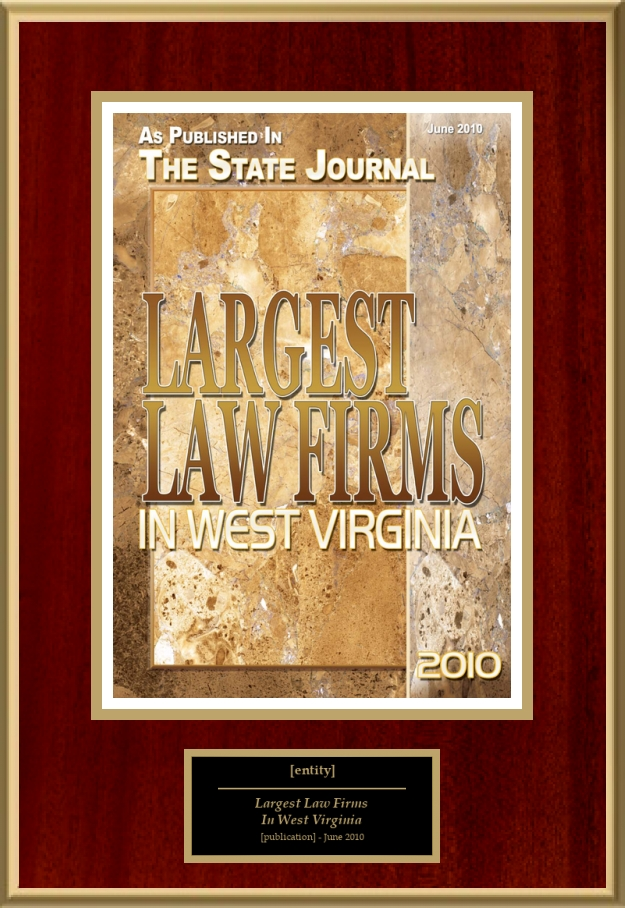 Largest Law Firms In West Virginia | American Registry ...