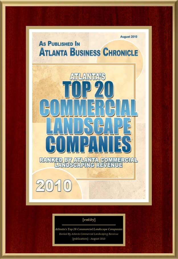 Loading recognition image. - Atlanta's Top 20 Commercial Landscape Companies American Registry