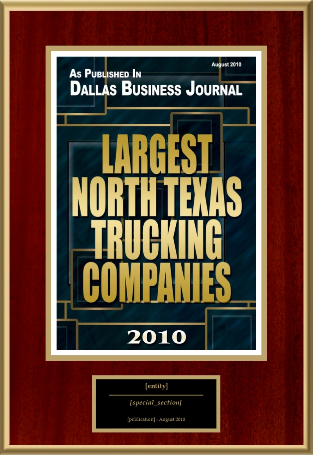 Largest North Texas Trucking Companies American Registry