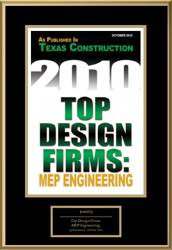 Top Design Firms MEP Engineering American Registry