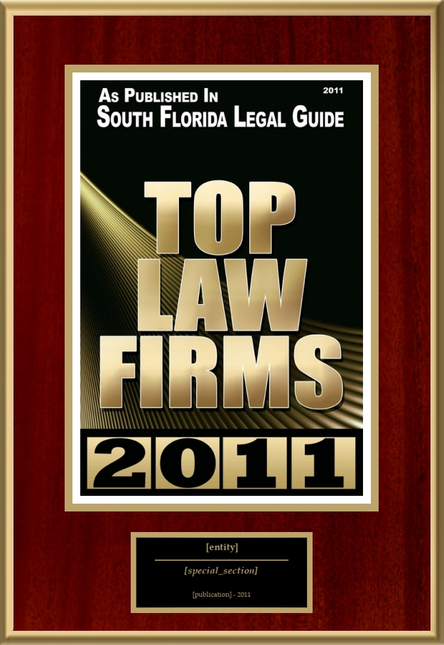 Top Law Firms | American Registry - Recognition Plaques, Award