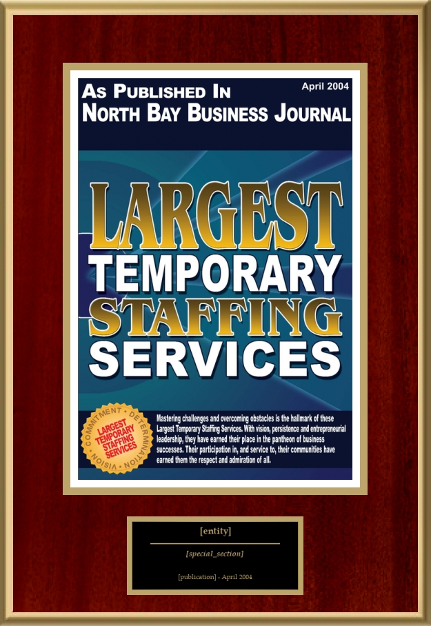 Largest Temporary Staffing Services American Registry