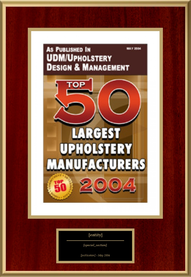 Top 50 Largest Upholstery Manufacturers American