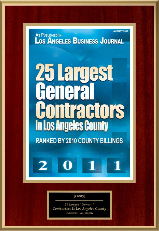 Largest General Contractors In Los Angeles County American - General contractor los angeles