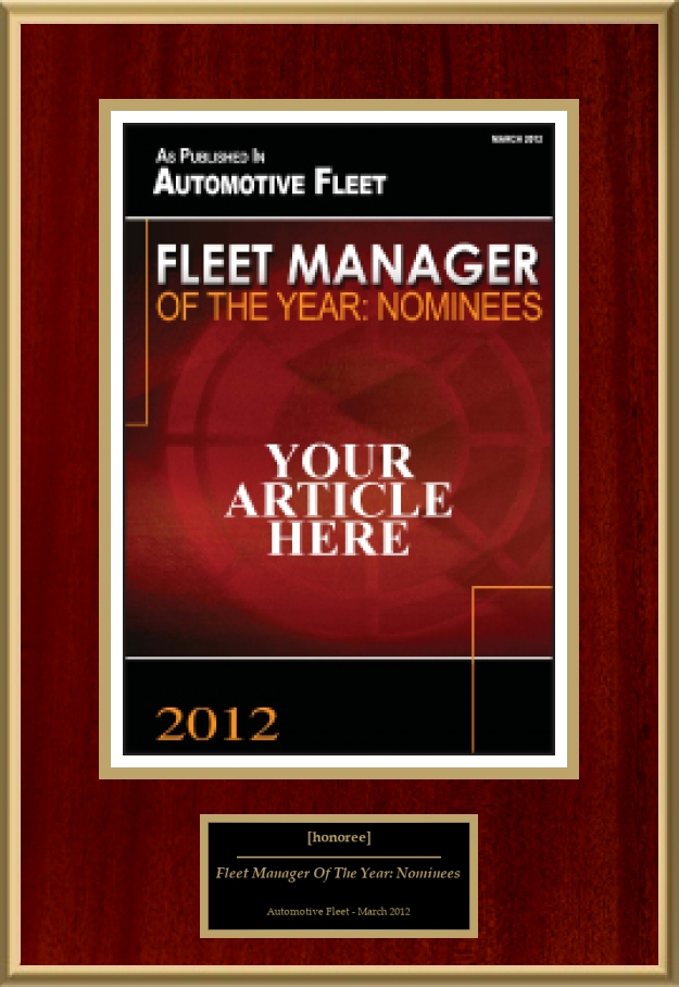 Fleet Manager Of The Year Nominees American Registry