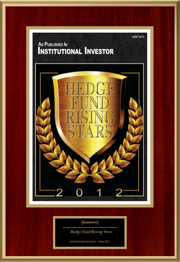 Hedge Fund Rising Stars American Registry Recognition Plaques