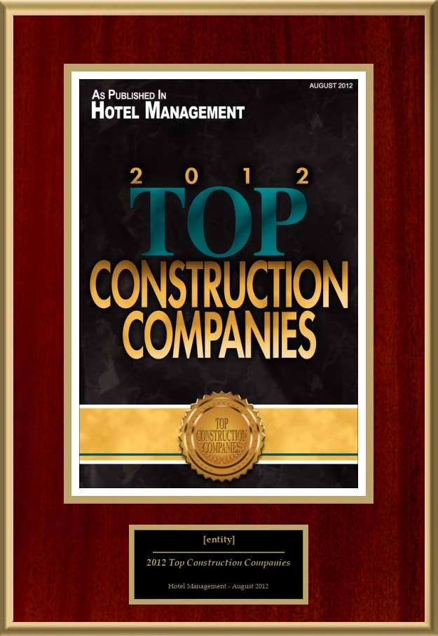 2012 Top Construction Companies | American Registry - Recognition