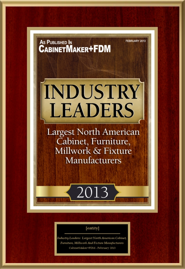 Largest north american cabinet furniture millwork and for American furniture manufacturing companies