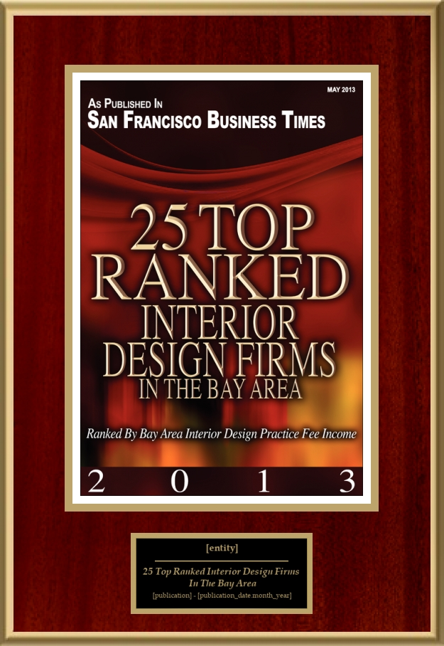25 Top Ranked Interior Design Firms In The Bay Area