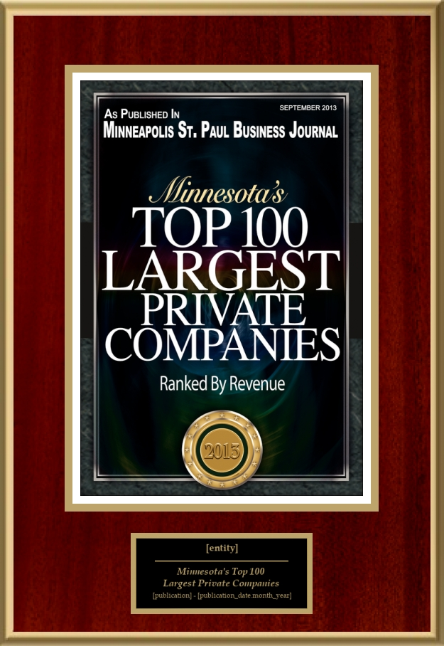 Minnesota's Top 100 Largest Private Companies | American ...