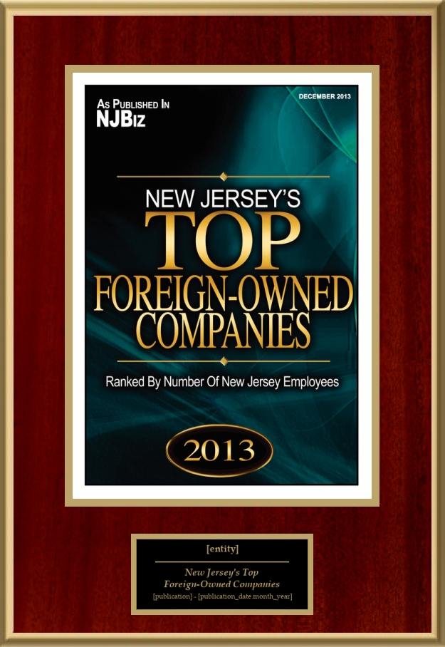 New Jersey's Top Foreign-Owned Companies | American Registry