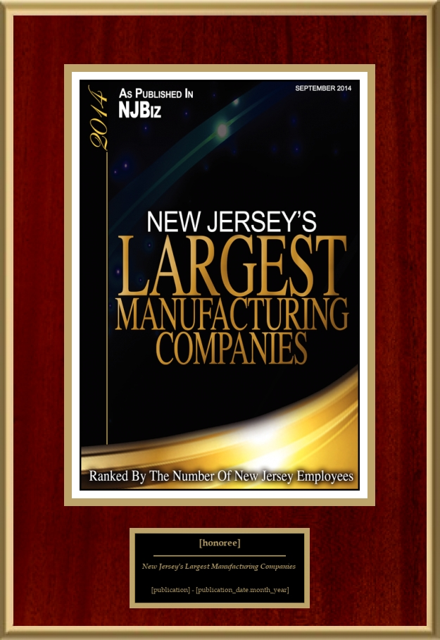 New Jersey's Largest Manufacturing Companies | American Registry