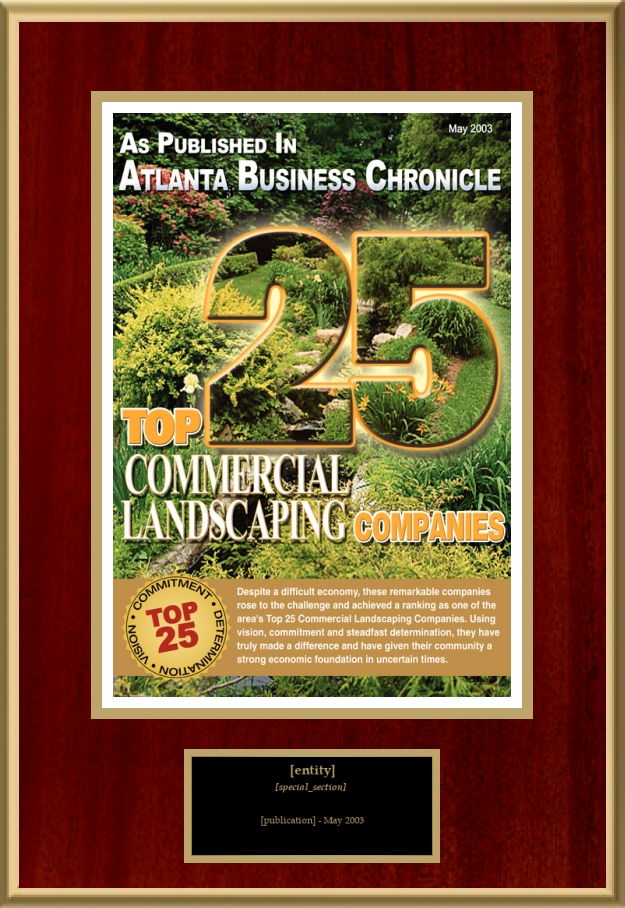 Loading recognition image. - Top 25 Commercial Landscaping Companies American Registry