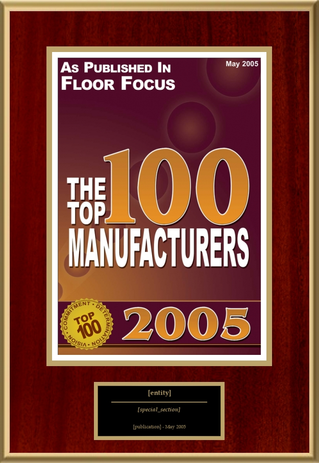 The Top 100 Manufacturers | American Registry - Recognition