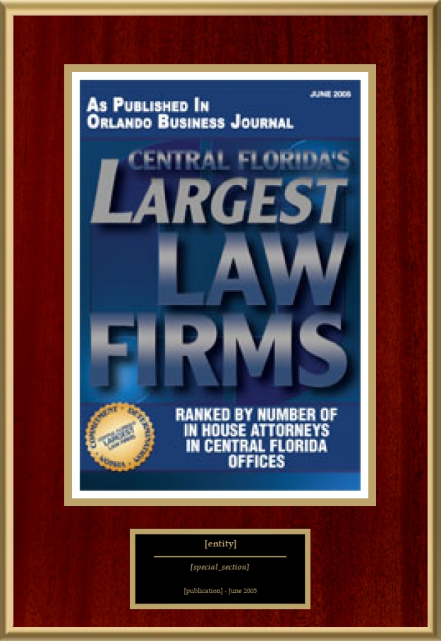 Central Florida's Largest Law Firms | American Registry