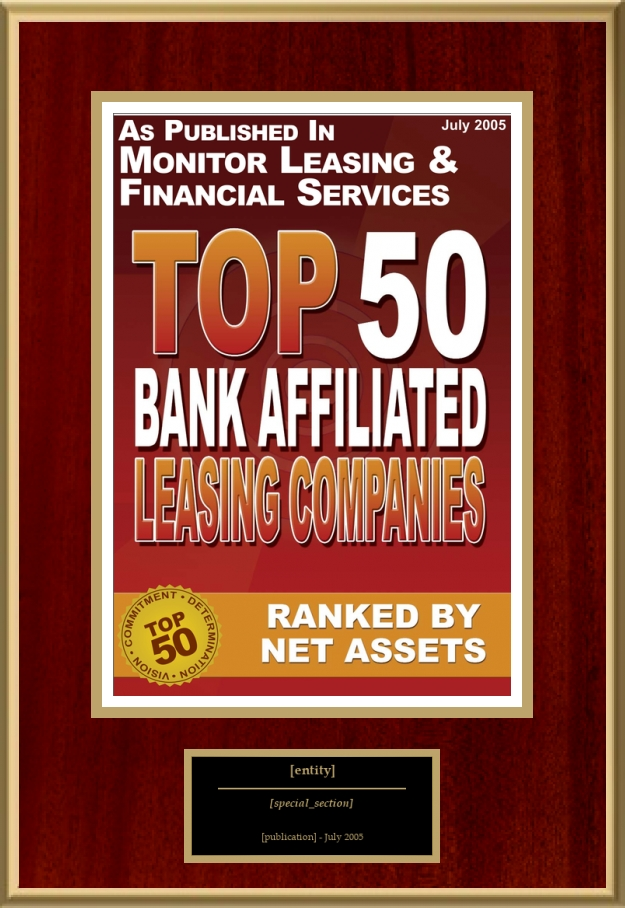Top 50 Bank Affiliated Leasing Companies | American Registry