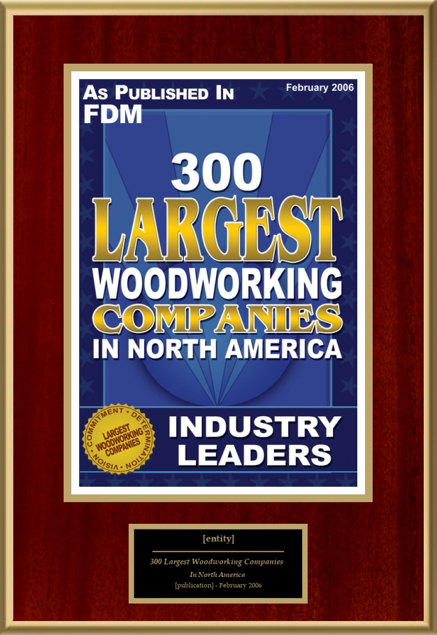 300 Largest Woodworking Companies In North America American