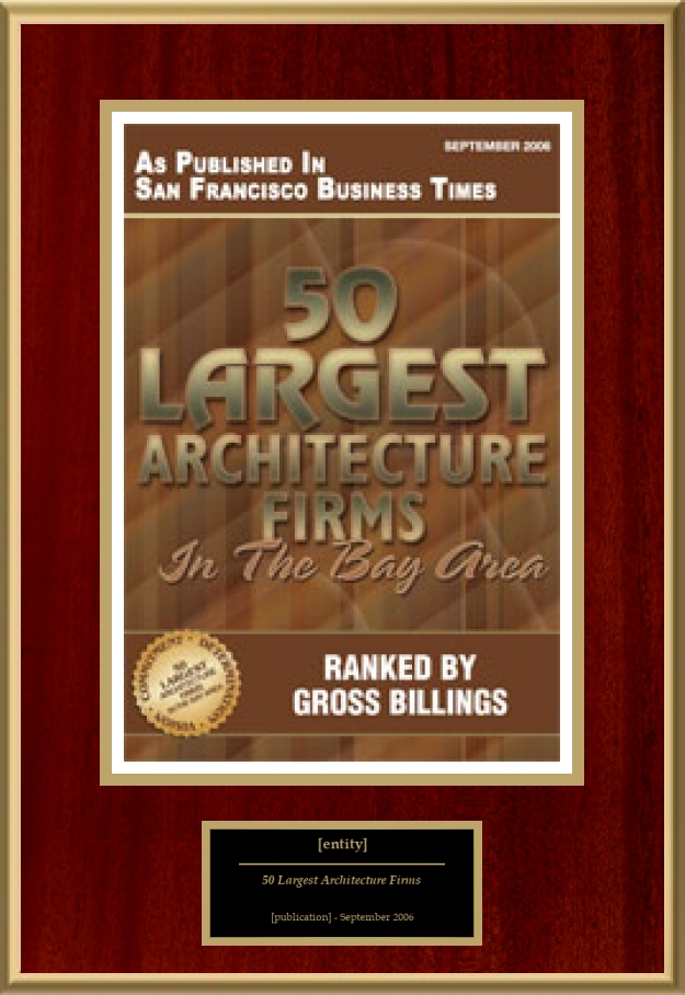 50 largest architecture firms in the bay area | american registry