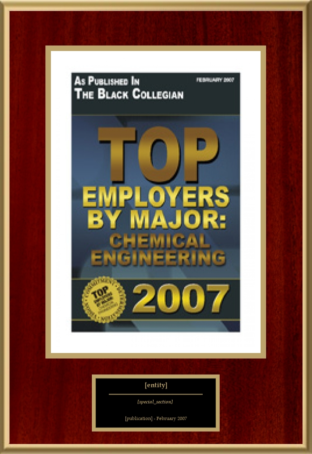 Top Employers By Major: Chemical Engineering | American