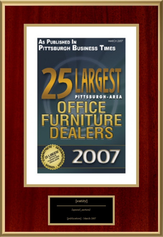 25 Largest Pittsburgh Area Office Furniture Dealers American