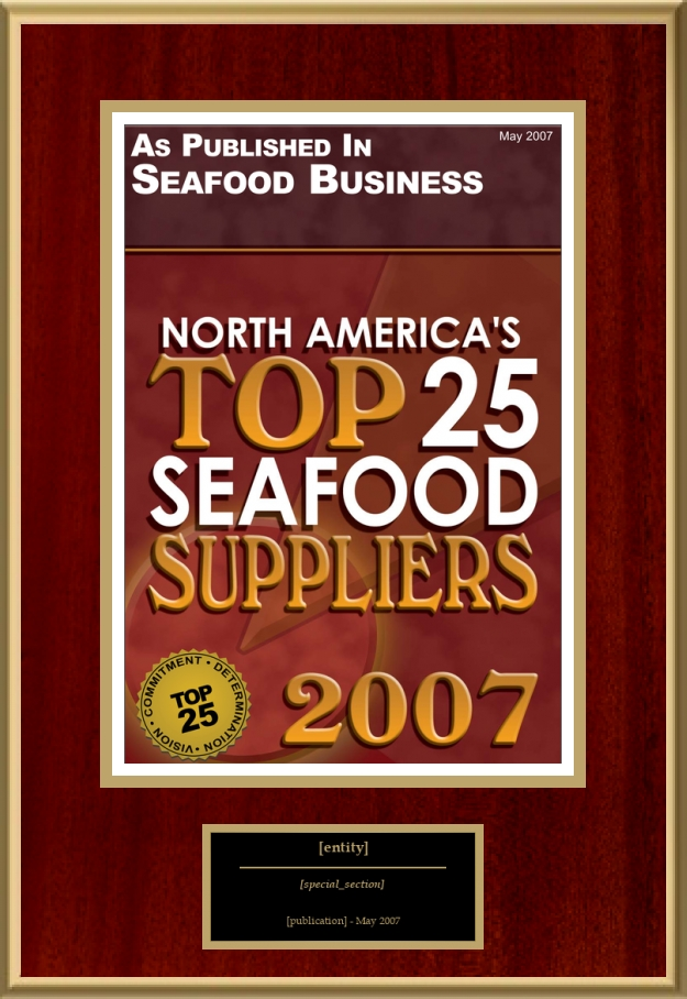 North America's Top 25 Seafood Suppliers | American Registry