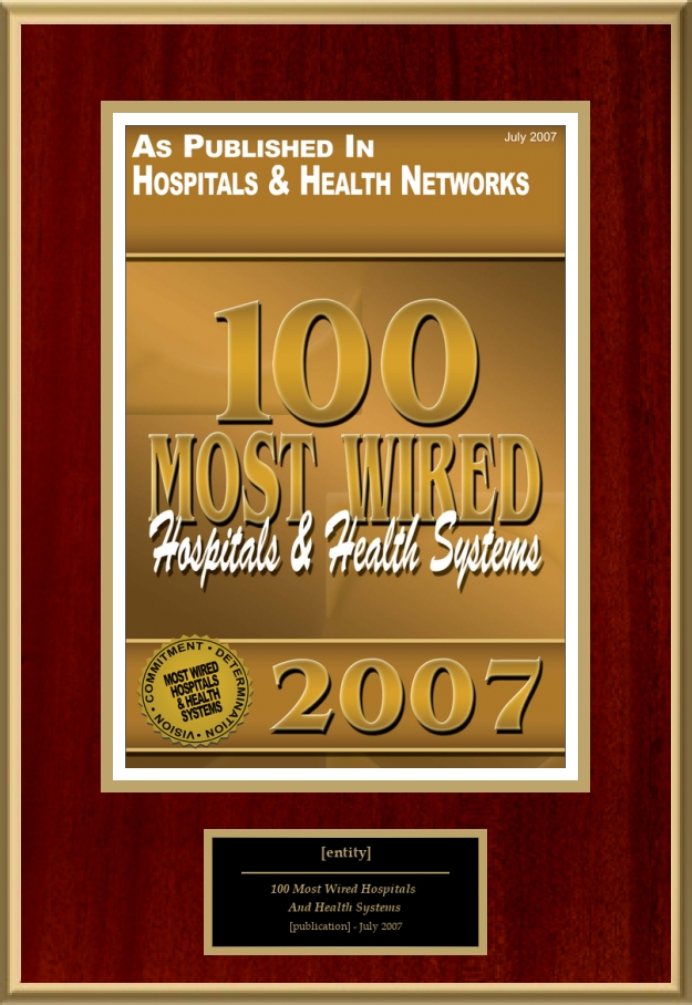 100 Most Wired Hospitals And Health Systems | American Registry ...