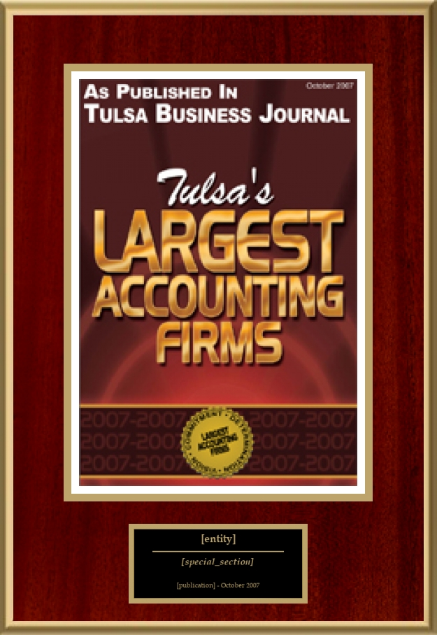 Tulsa's Largest Accounting Firms | American Registry ...
