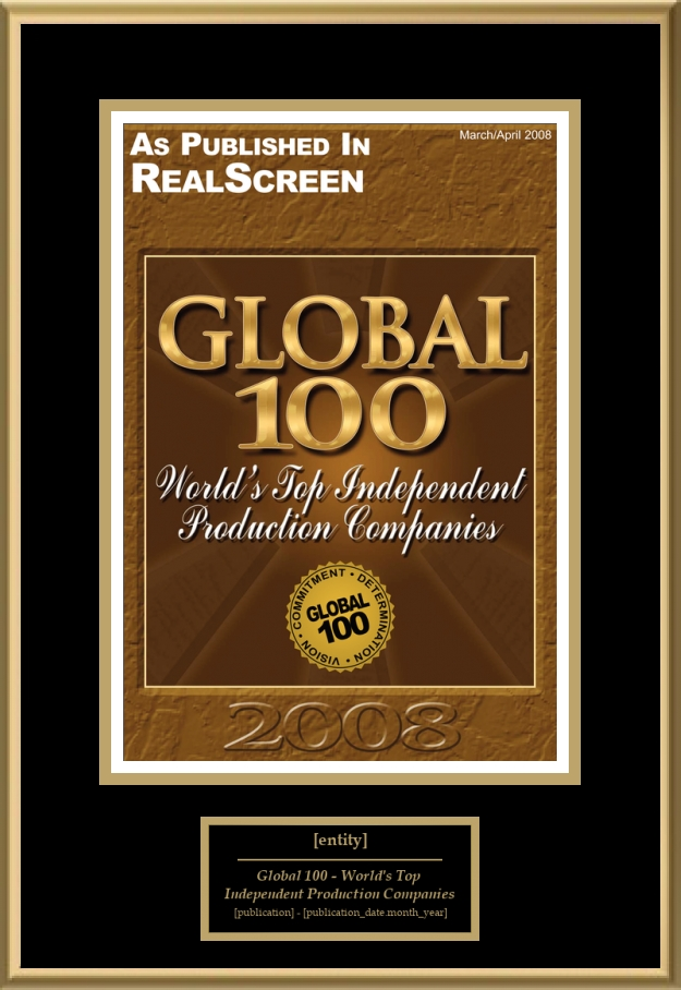 Global 100 - World's Top Independent Production Companies | American