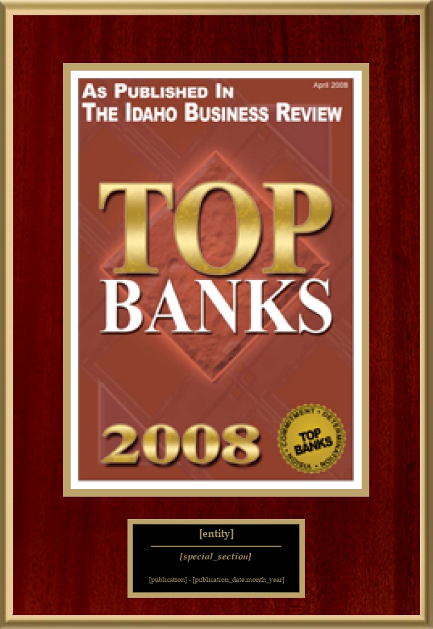 Top Banks | American Registry - Recognition Plaques, Award