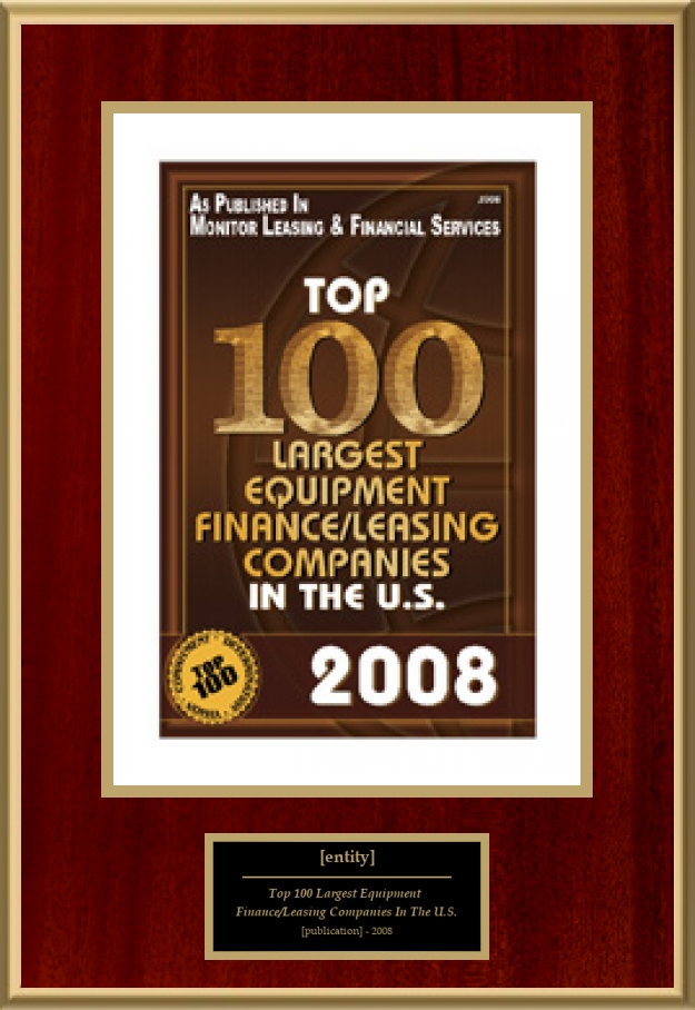 Top 100 Largest Equipment Finance/Leasing Companies In The ...