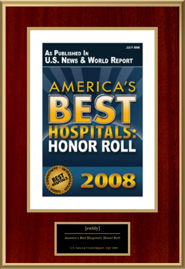 America's Best Hospitals: Honor Roll | American Registry