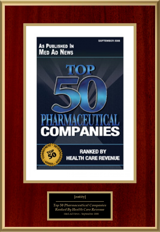 Top 50 Pharmaceutical Companies | American Registry