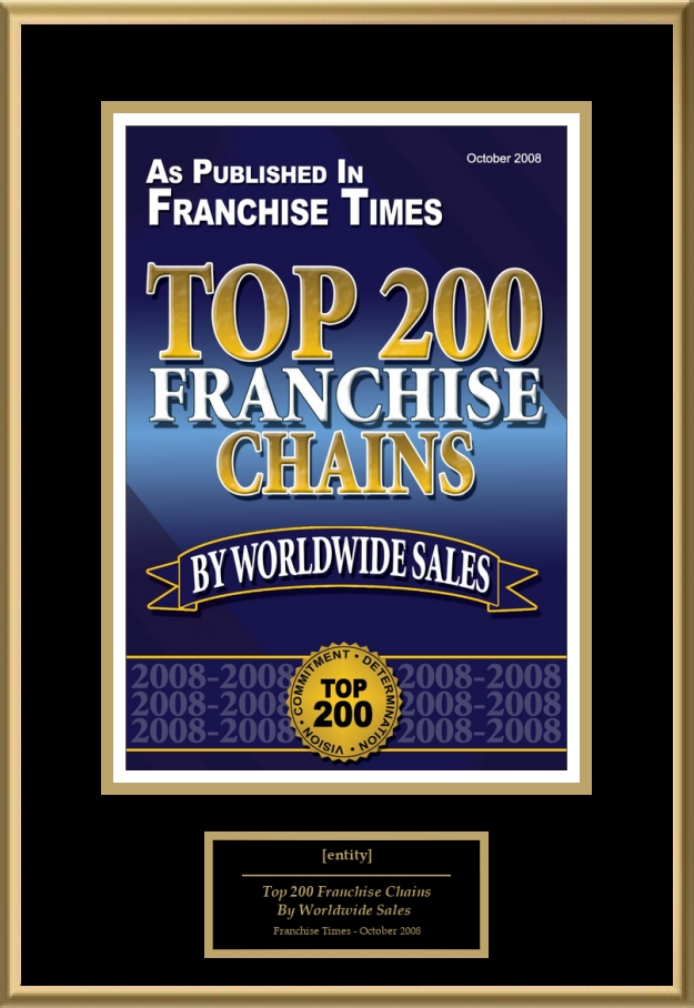 Top 200 Franchise Chains