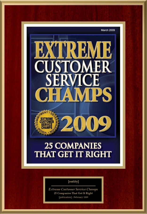 Extreme Customer Service Champs American Registry