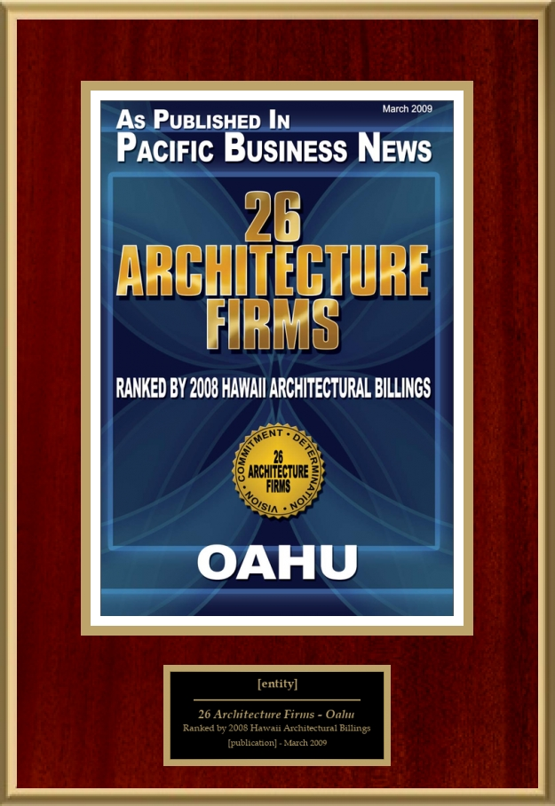 Architecture Firms Oahu American Registry Recognition - Hawaii architecture firms
