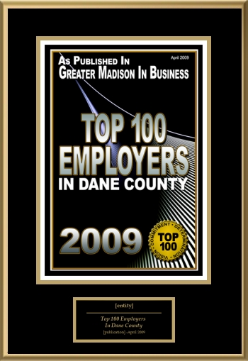 Top 100 Employers In Dane County | American Registry - Recognition ...