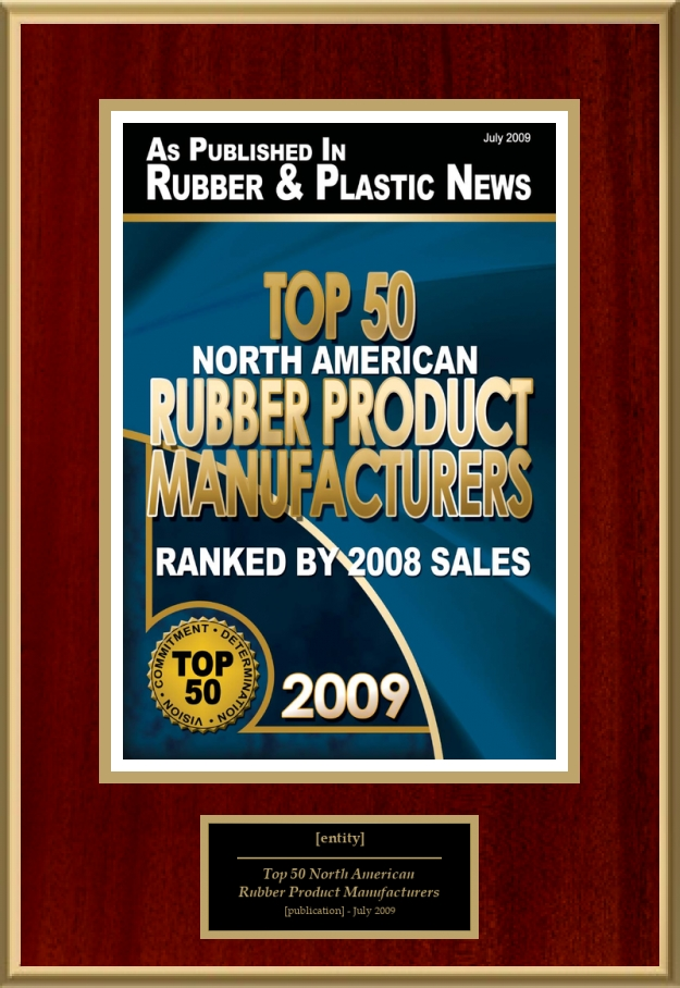 Top 50 North American Rubber Product Manufacturers   American